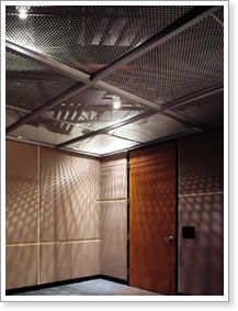 Decorative Panels Interior Walls And Curtains Made Of Metal Panel