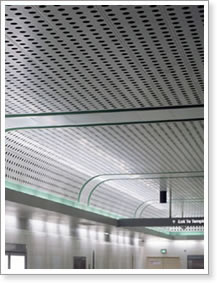 Metal Panels For Walls perforated panels for acoustic system building and architectural