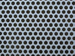 Perforated Plate Sieves Processed From Round Hole