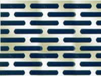 Slotted Hole Perforated Sheet Perforated Metal Products