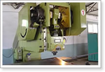 Slotted Pipe Perforating Machine
