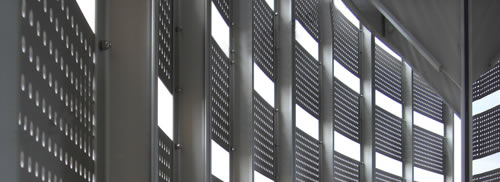 Perforated Sheets Architectural Mesh Facade Panels