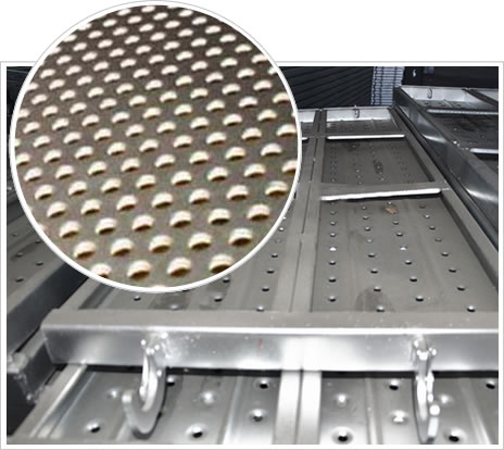 perforated ceiling grilles dimple perforated metal sheet for anti slippery grating channel floor