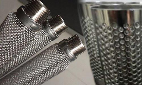 304L Stainless Steel Embossed Sheet Welded Pipes for Filter Cloth Protection
