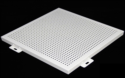 Porous Perforated Ceiling Panels Meeting Architectural Sound Control