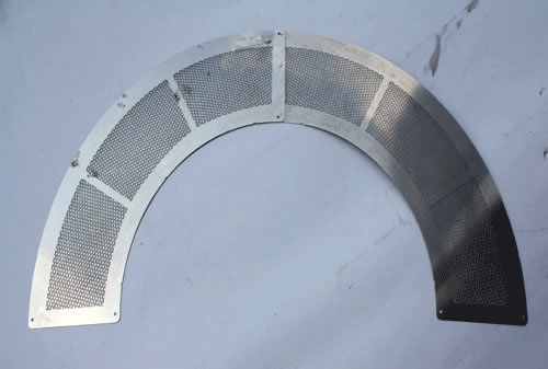 Perforated Discs Used As Sheet Metal Filter And Perforated