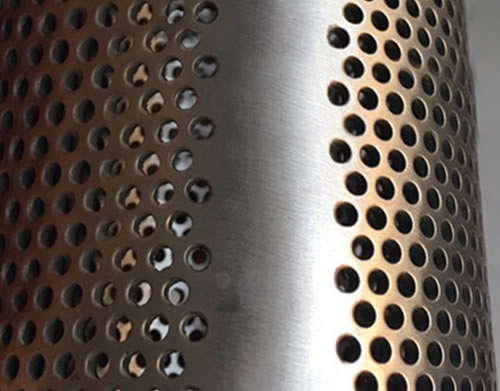 Perforated Stainless Steel Plate Power Plant Steam