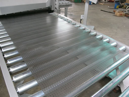 Decorative Perforated Wire Mesh Grilles in Aluminum