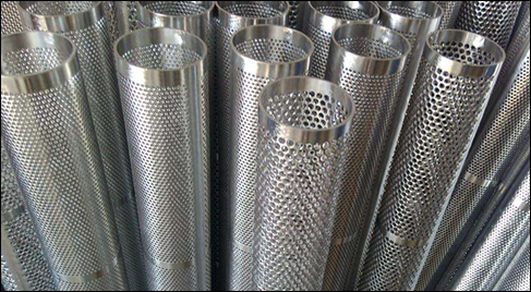 Perforated Filter Elements: Filter Cores, Liner Tubes