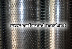 Stainless Steel Punched Metal Plate Filter Elements